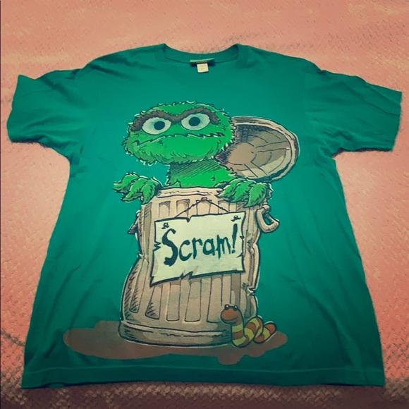 Other - Oscar the Grouch T-shirt